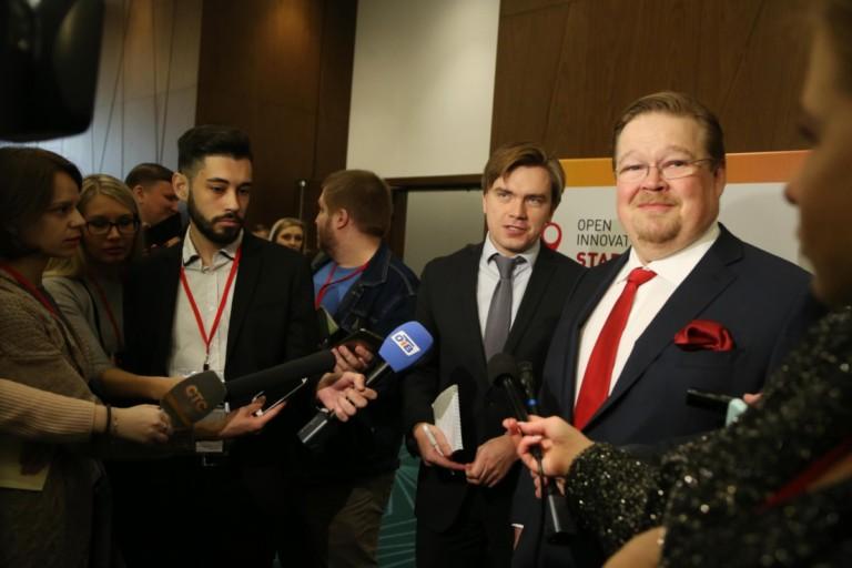 Советник президента Фонда Сколково Пекка Вильякайнен